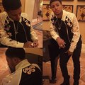 sexy man in jacket - diggy-simmons photo