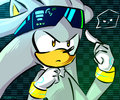 silvers glasses - silver-the-hedgehog photo
