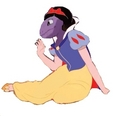 snow white   arbok - pokemon photo