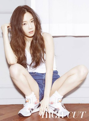 taeyeon high cut