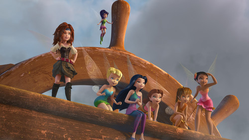 Tinkerbell Wallpaper Titled And The Pirate Fairy