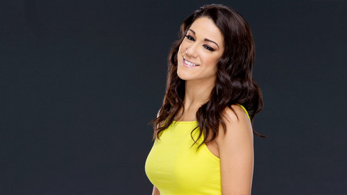 WWE Divas wallpaper possibly with a bustier and a portrait called     Bayley