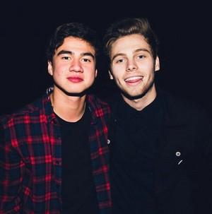 Calum and Luke