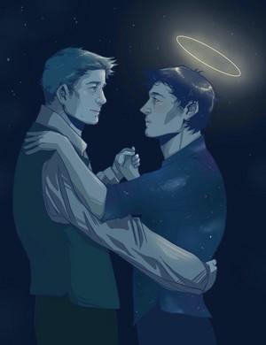 ★ Dean and Castiel ★