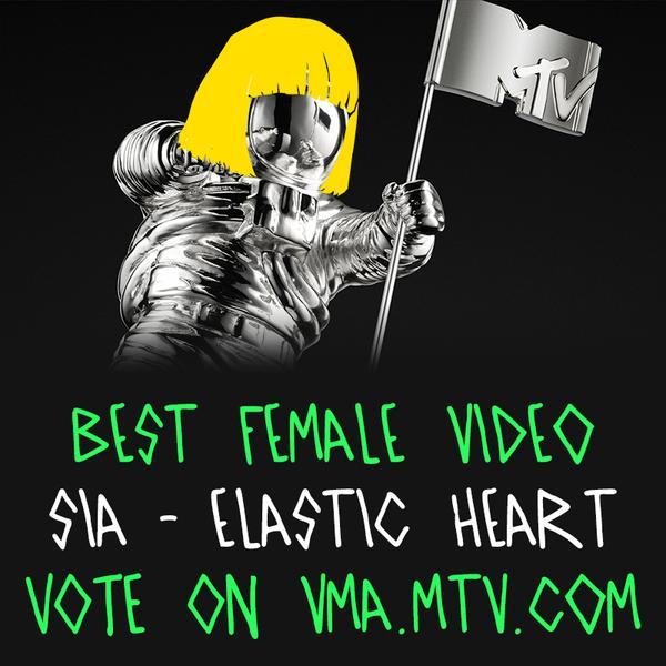 """""""Elastic Heart"""" has been nominated for an mtv VMA! Vote """"Best Female Video"""""""