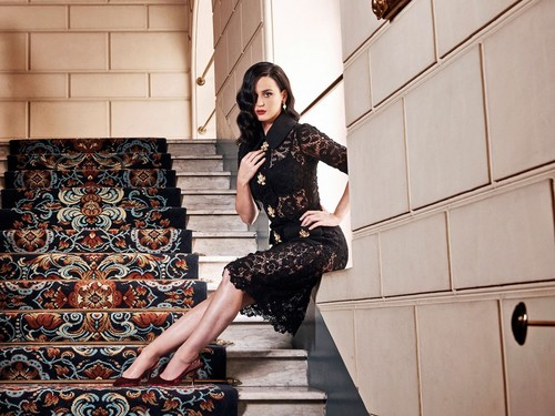 Katy Perry پیپر وال entitled Forbes photoshoot