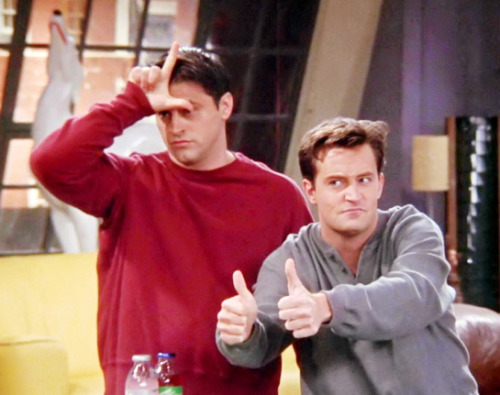 friends wallpaper entitled Joey and Chandler