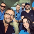 Kaya at the Gold Coast Titans game