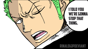 *Roronoa Zoro Resolve*