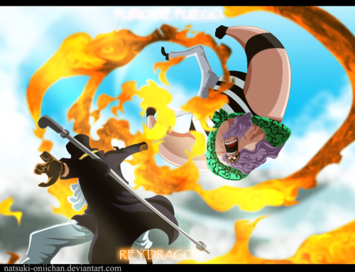 one piece wallpaper titled *Sabo defeat jesus Burgess*