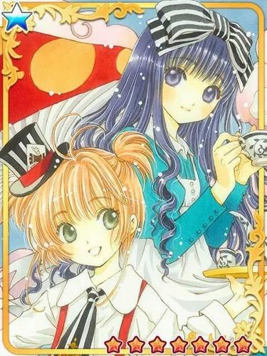 Cardcaptor Sakura wolpeyper containing anime called Sakura and mga kaibigan