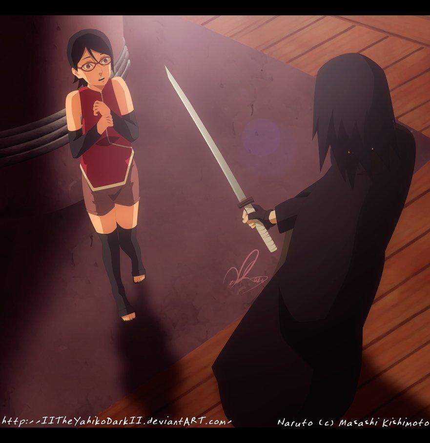 *Sarada / Sasuke : A Father Daughter Reunion*