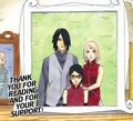 *Sasuke / Sarada / Sakura : Happy Family* - naruto-shippuuden photo