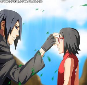 *Sasuke / Sarada : Until We Meet Again*