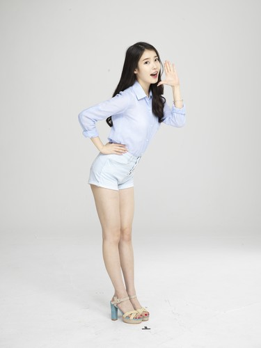 iu wallpaper possibly with a nightwear and a pakaian bermain, playsuit titled [UHQ] iu for Cable TV