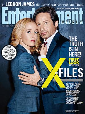 'X-Files' returns: New EW exclusive ছবি