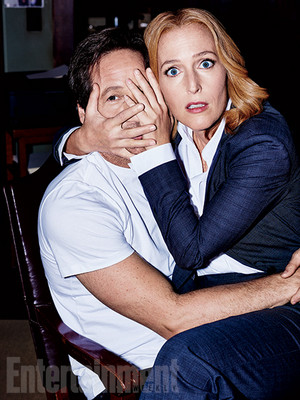 'X-Files' returns: New EW exclusive picha