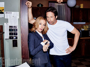'X-Files' returns: New EW exclusive mga litrato