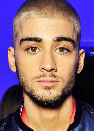 Zayn Malik wallpaper probably containing a portrait called                      Zayn at LV Fashion Show