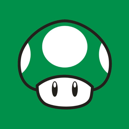 Nintendo wallpaper possibly containing a venn diagram titled 1-up mushroom