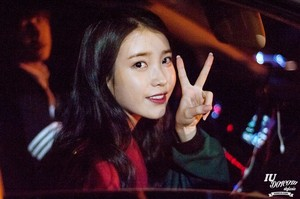 150424 IU After Producer Filming