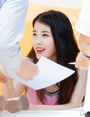 150426 IU at Mexicana Fansign Event