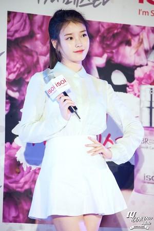 150515 아이유 at ISOI Hongdae Event