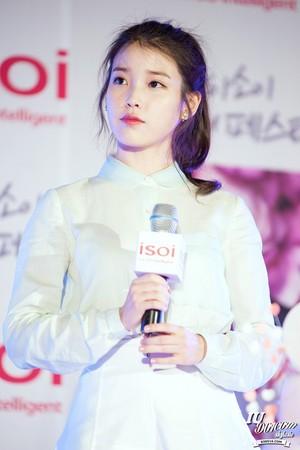 150515 IU at ISOI Hongdae Event