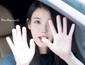 150616 IU After Producer Filming