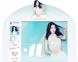 150702 IU Official Fancafe New Look