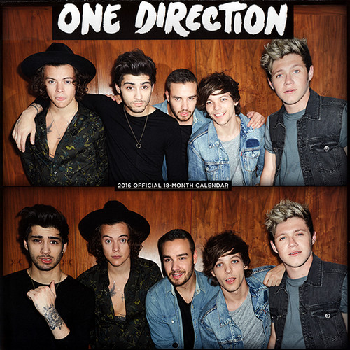 one direction fondo de pantalla entitled 2016 Official 18-Month Calendars