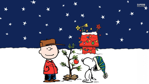 Snoopy wallpaper probably with anime titled A Charlie Brown Christmas