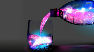 A Glass of Space