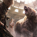 A Song Of Ice And Fire - 2016 Calendar - In the Bear Pit - a-song-of-ice-and-fire photo