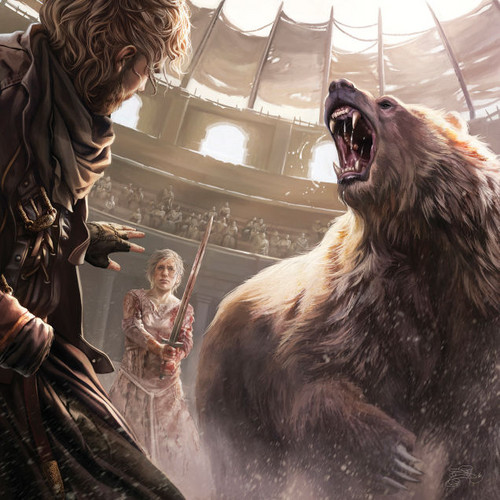 A Song of Ice and Fire wallpaper titled A Song Of Ice And Fire - 2016 Calendar - In the Bear Pit