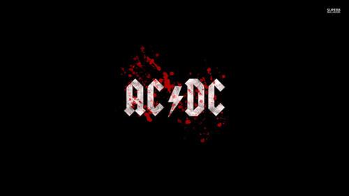 Heavy Metal 바탕화면 entitled AC / DC Logo