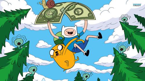 卡通网络 壁纸 containing 日本动漫 entitled Adventure Time