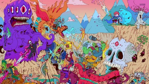卡通网络 壁纸 probably with 日本动漫 called Adventure Time