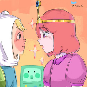 Adventure time Finn and PB
