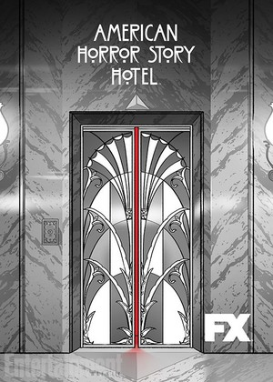 American Horror Story Hotel Season 5 Comic-Con Trading Card