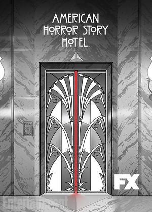 American Horror Story Hotel Season 5 Comic-Con Trading Card