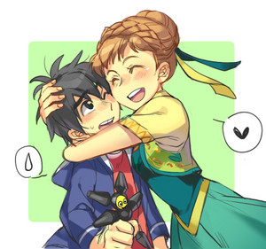 Anna and Hiro