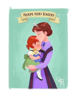 Anna and queen Idunn