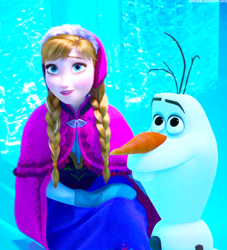 Elsa and anna images anna and olaf wallpaper and - Olaf and anna ...