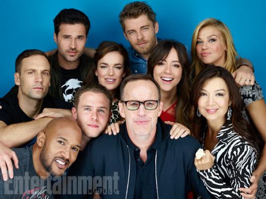 AoS Cast - Comic Con 2015