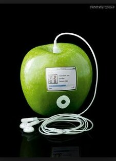 pomme iPod