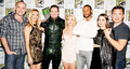 Arrow cast at Comic Con 2015