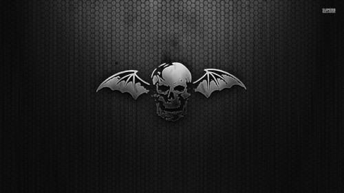Heavy Metal Hintergrund entitled Avenged Sevenfold