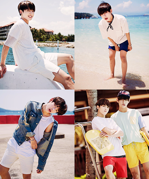 Bangtan Boys Summer Lookbook