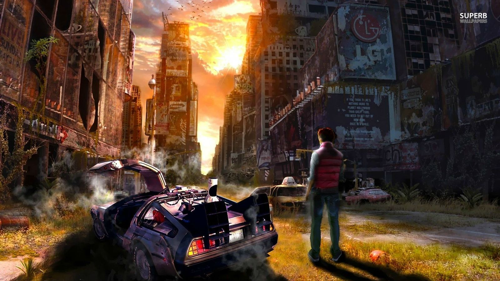 Time Travel Images Back To The Future Hd Wallpaper And